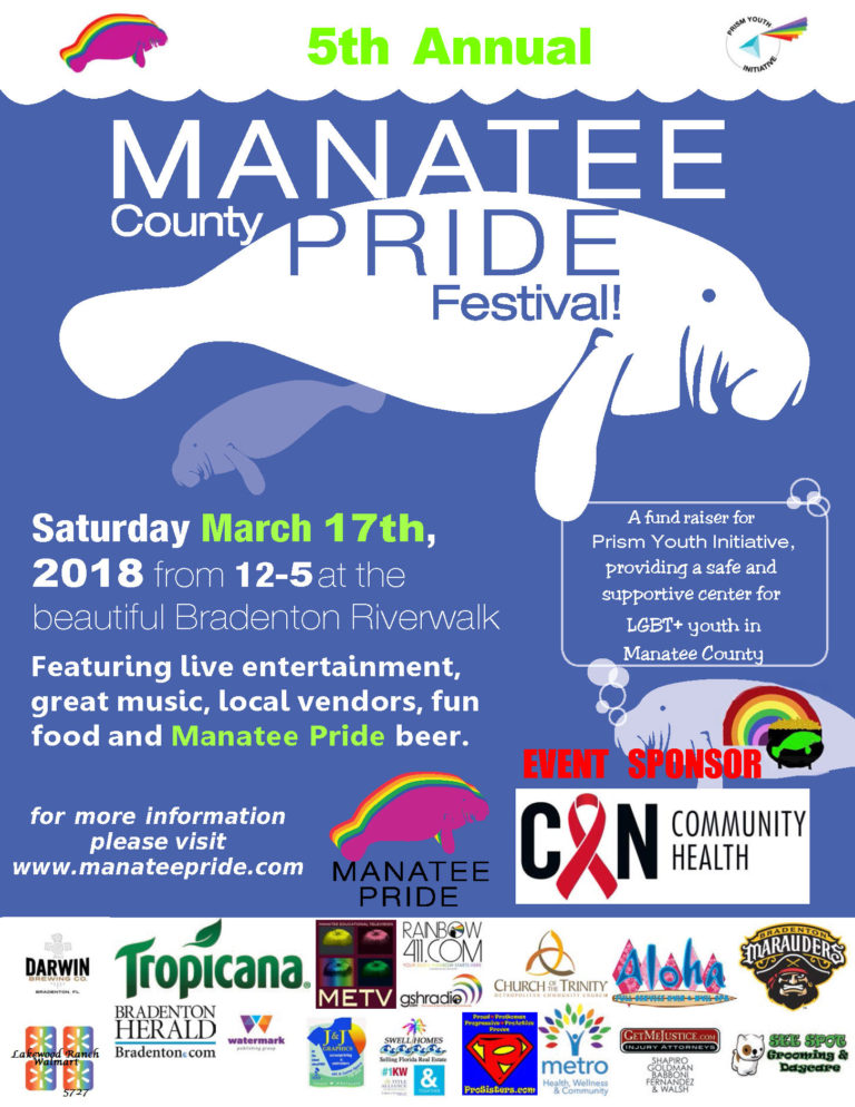 Leslie Wells and Manatee County Pride Festival
