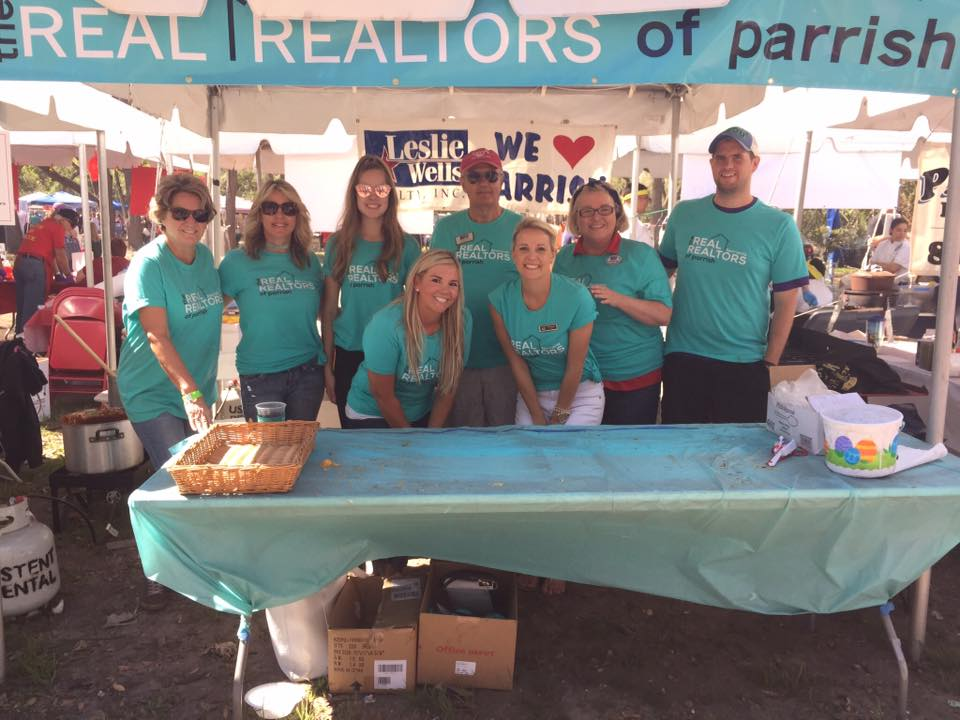 Leslie Wells Realty Parrish Chili Cook Off 2017