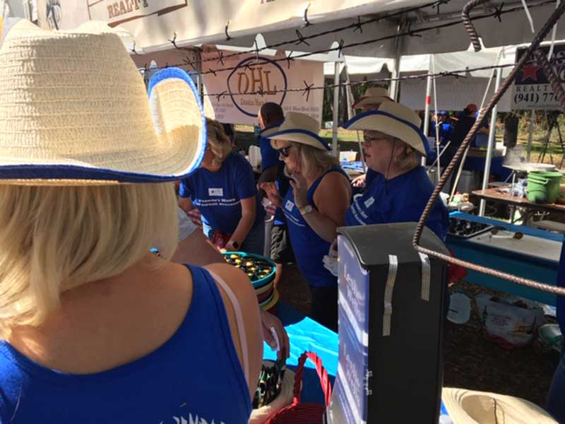 Leslie Wells Realty Parrish Chili Cook Off 2019