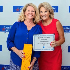 Leslie Wells Realty Agent of the Year