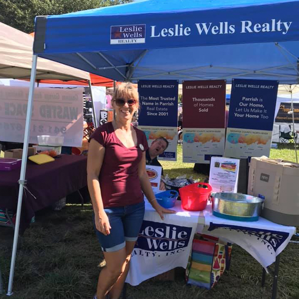 Leslie Wells Realty Parrish Expo 2019