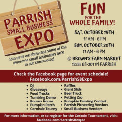 Leslie Wells Realty | Parrish Small Business Expo, 2019
