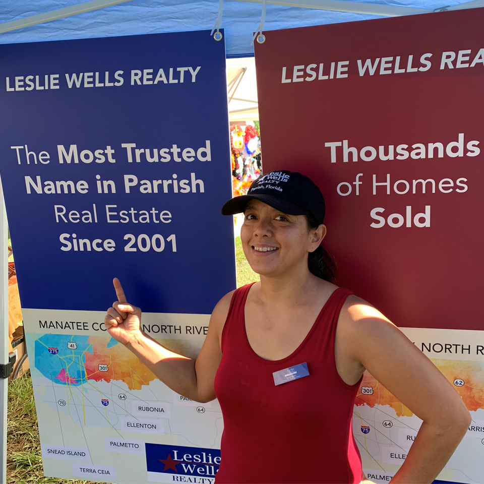 Leslie Wells Realty at Parrish Expo 2019