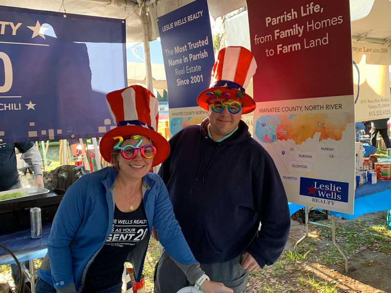 Leslie Wells Realty 9th Annual Parrish Heritage Day Parade Festival & Chili Cook Off