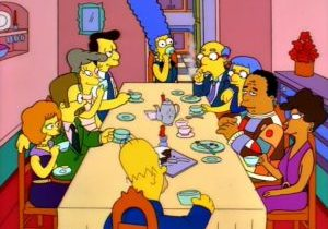 simpsons-dinner-party