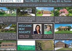 Leslie Wells Realty Parrish Village News August 2018