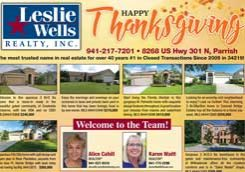 Leslie Wells Realty November 2018 Listings