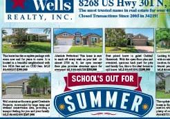 Leslie Wells Realty June 2018 Listings Thumbnail