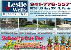 Leslie Wells Realty Inc. June 2019 Listings