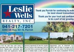 Leslie Wells Realty 2019 Listings