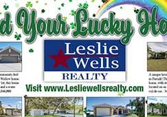 Leslie Wells Realty March 2020 Listings